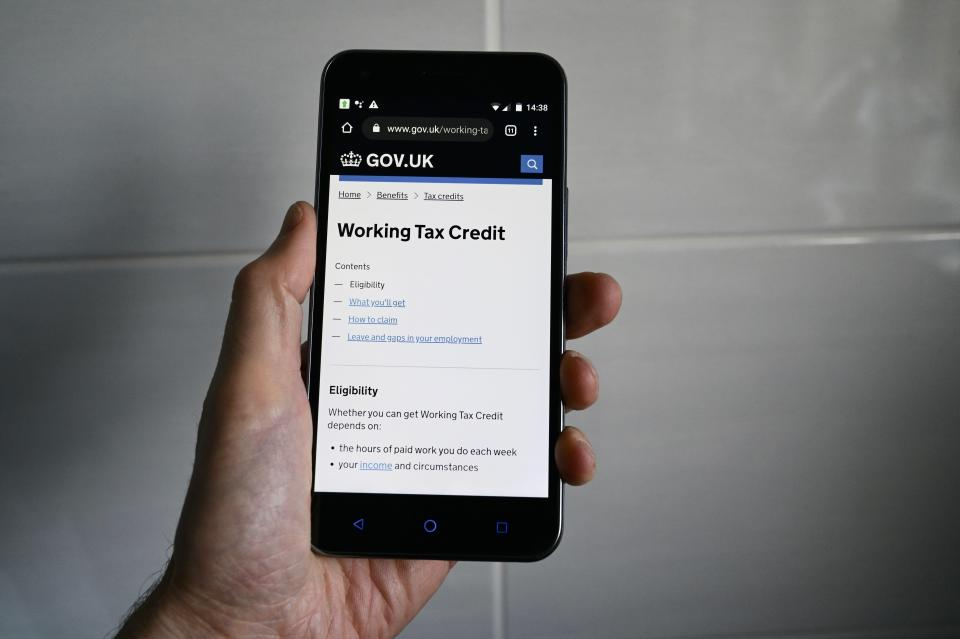 One-off payments of £500 have been landing in the bank accounts of Brits who claim working tax credits this week