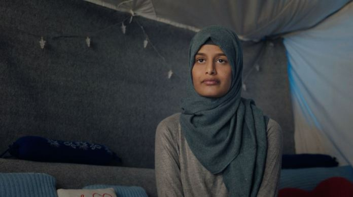 Shamima Begum in documentary The Return: Life After ISIS