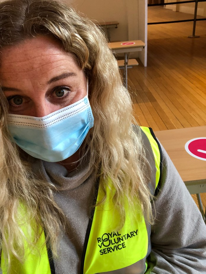 Fiona Young has been volunteering for the Jabs Army in London