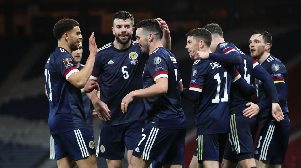 Scotland are looking to get out of a tournament group for the first time