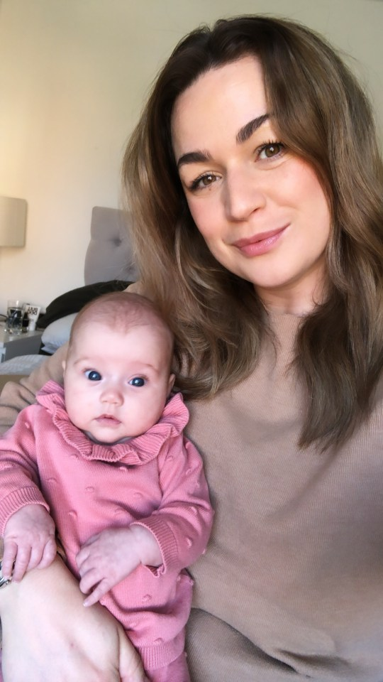Chloe Dodd, 29, says there was 'no-one to help' and her partner was not allowed in when she gave birth
