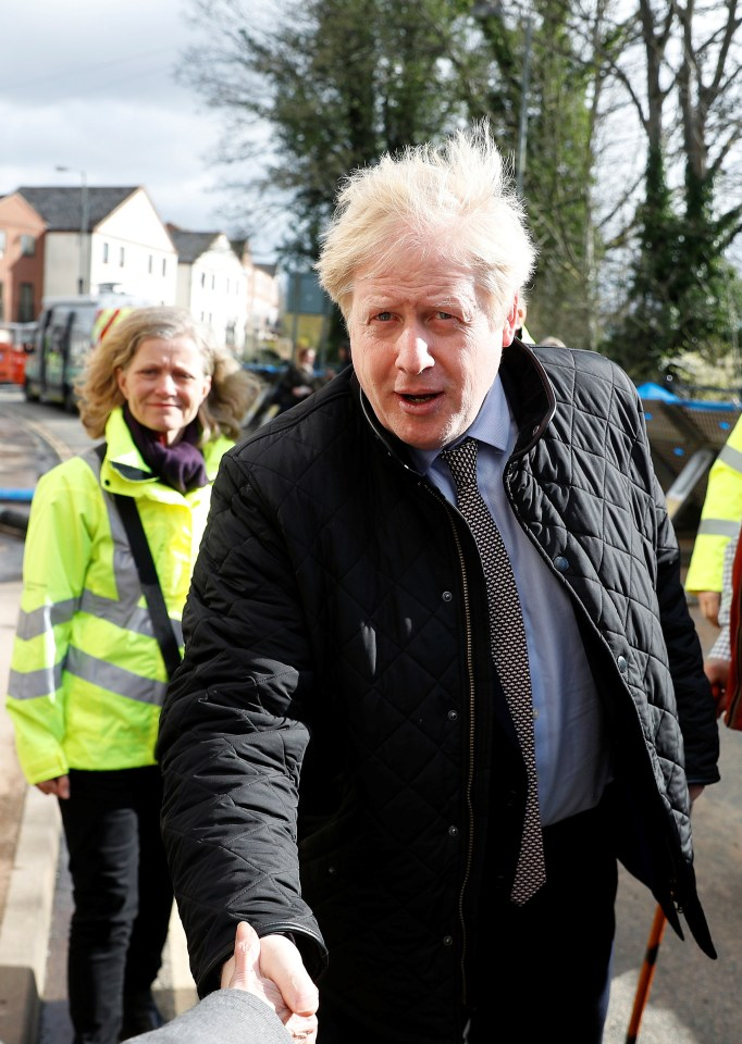 He swapped Boris's trip to Bewdley last year (pictured)