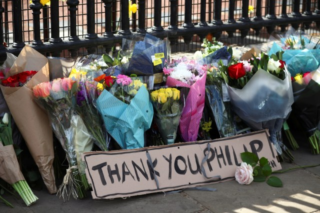 A floral tribute to Prince Philip