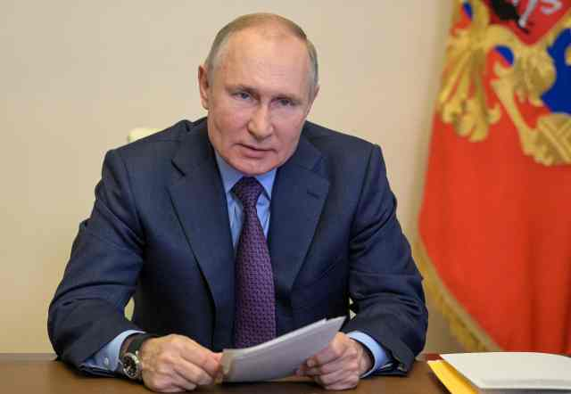 Putin has amassed more than 150,000 troops on the border with Ukraine
