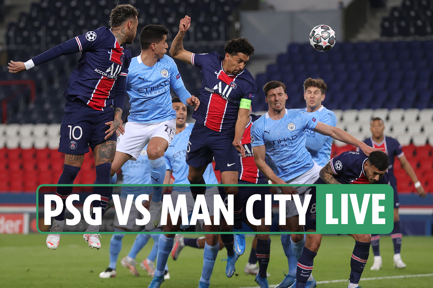 PSG vs Man City LIVE: Stream FREE, score, TV channel as Marquinhos powers  in opener – Champions League latest updates - 247 News Around The World