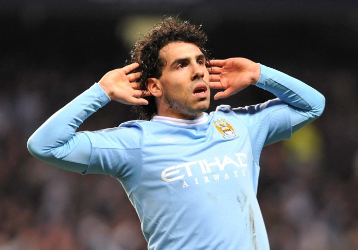 Carlos Tevez angered United when moving across Manchester in 2009