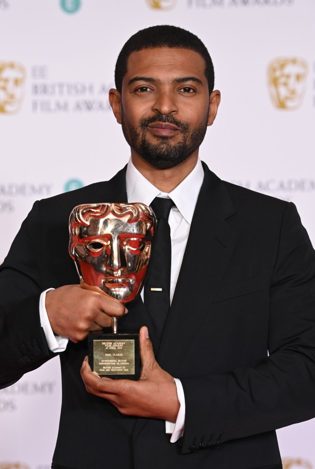 Noel Clarke was awarded a Bafta earlier this month - but it's been suspended amid a series of serious allegations