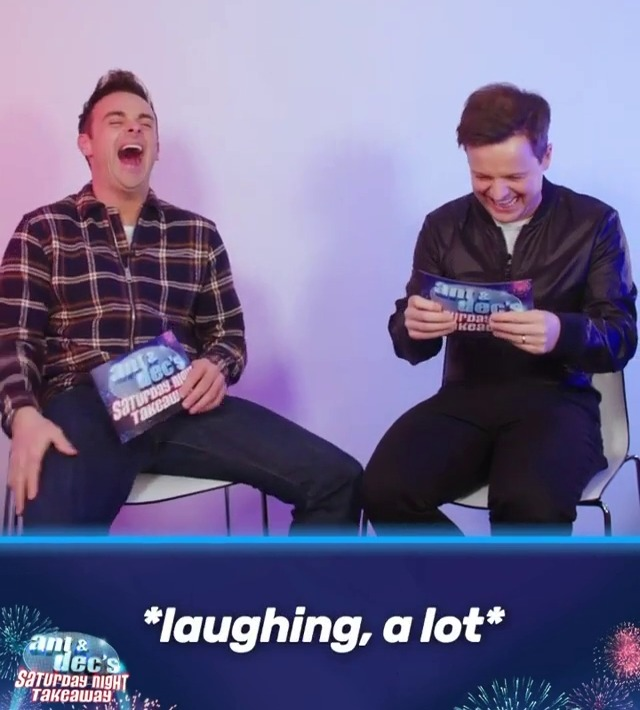 Ant and Dec were in hysterics over some of the things people wanted to know about them