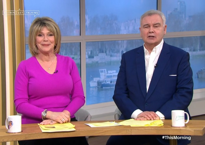 The daytime TV presenter will host This Morning with wife Ruth Langsford this week