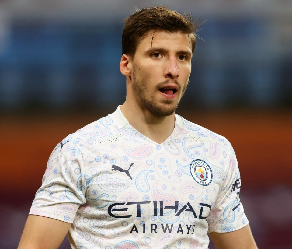 Ruben Dias was handed the player of the season from both pundits