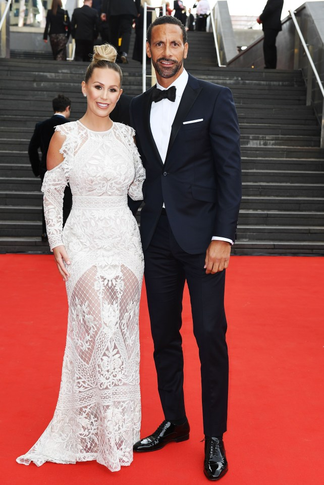 The former Towie regular  is married to ex-England footie star Rio Ferdinand