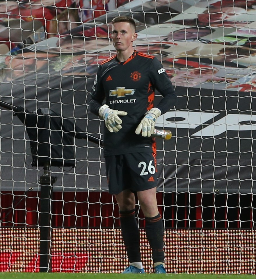 Dean Henderson's 'presence' in goal for Man Utd has been called into question