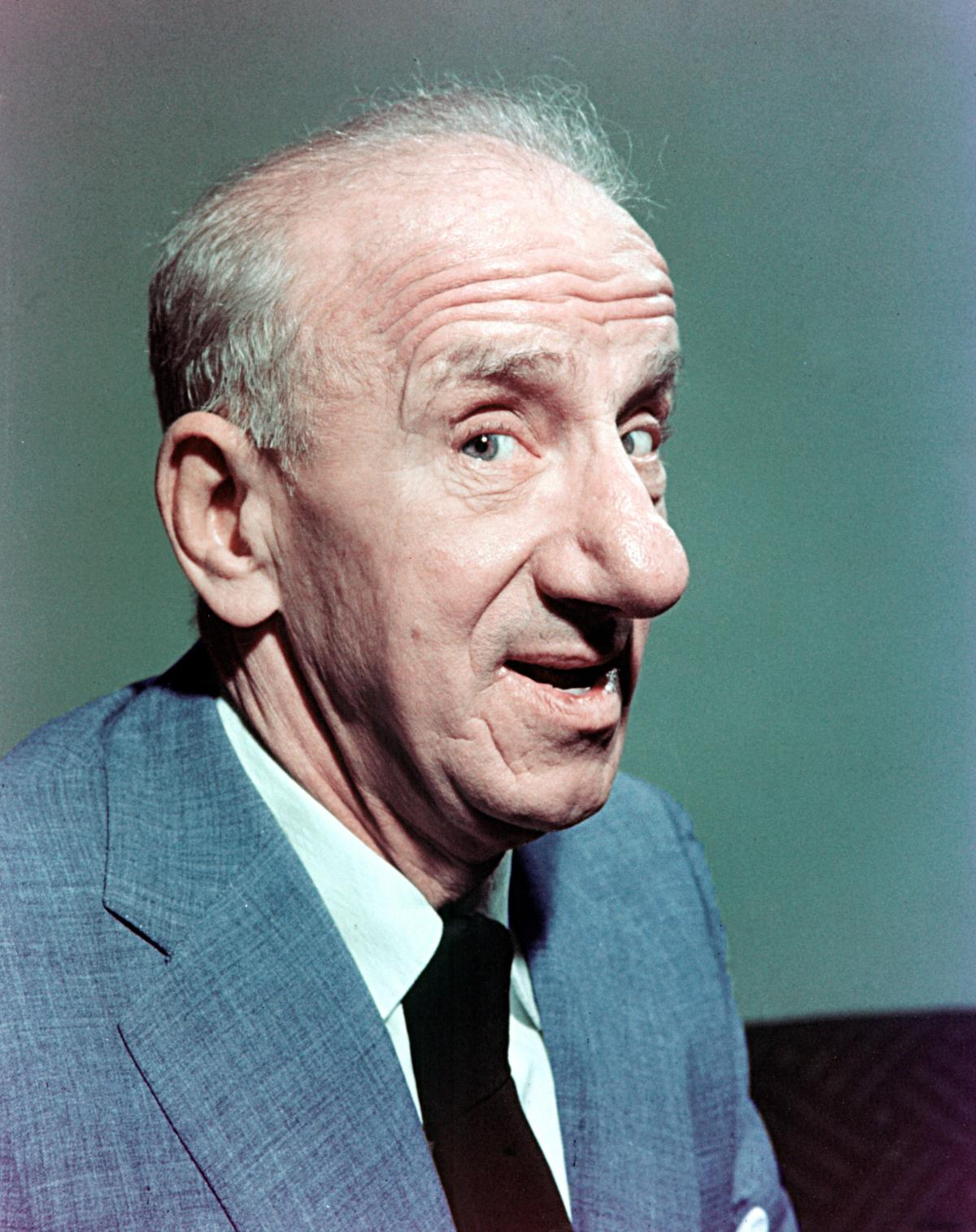 Research revealed that gents with big noses like US actor Jimmy Durante are about 30 per cent bigger below than guys with tiny conks