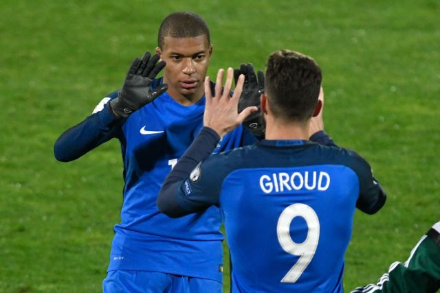 France are blessed with a frightening array of attacking talent