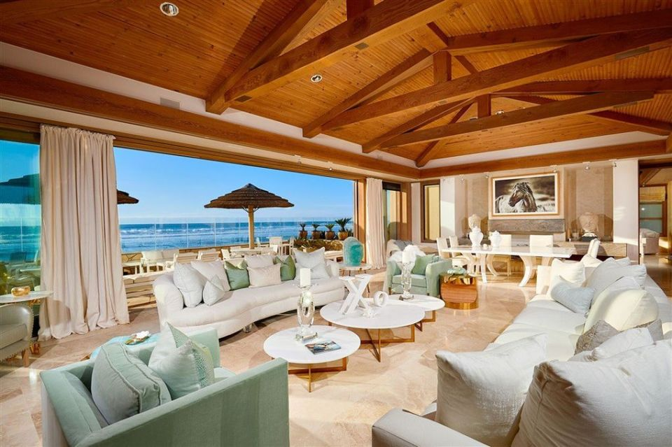 The couple's $43 million oceanfront property in Del Mar, California