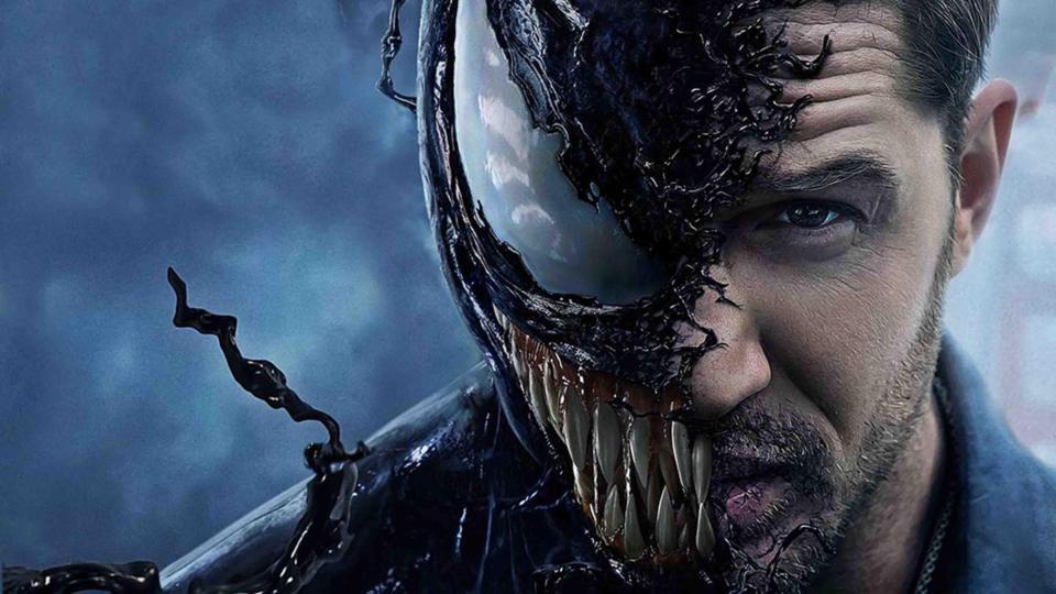 Venom stars Tom Hardy as daring journalist Eddie Brock