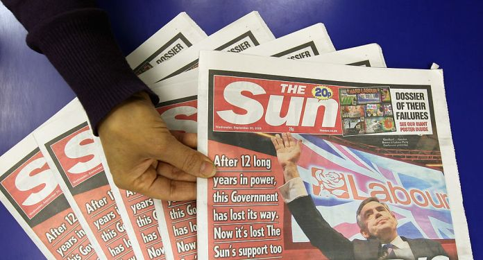 The Sun, along with all the other national newspapers should be available this bank holiday