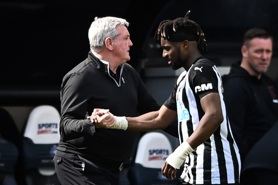 Steve Bruce says it's 'inevitable' there will be interest in Saint-Maximin this summer