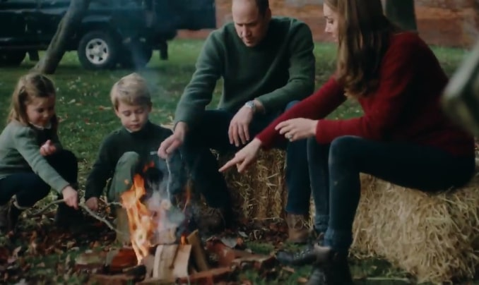 Kate and William released a sweet family video for their 10-year anniversary