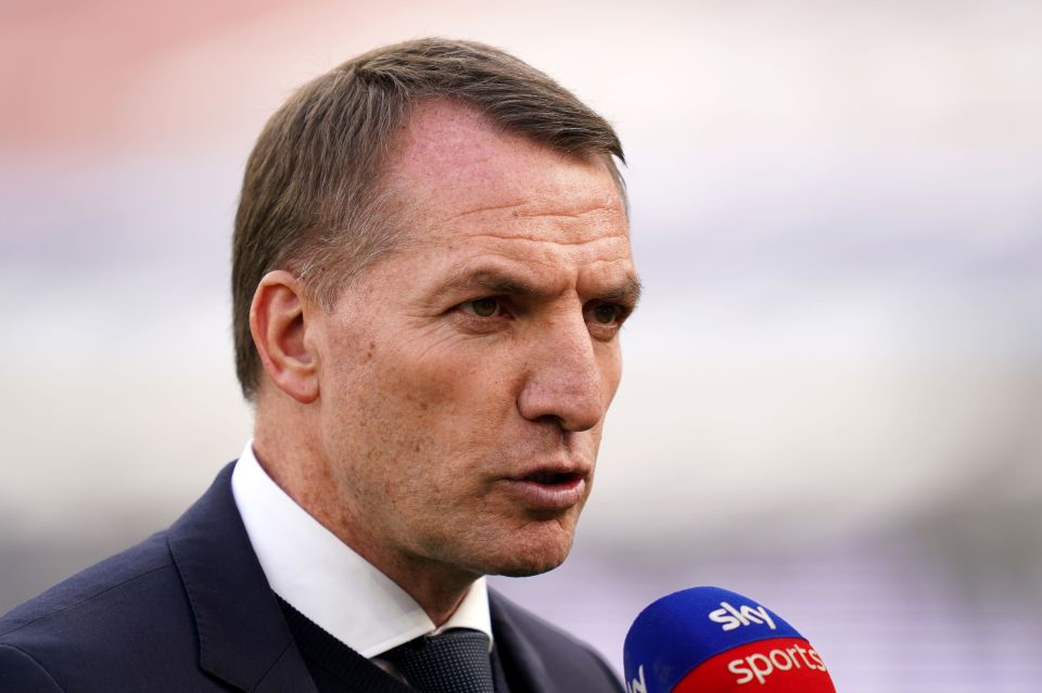 Tottenham could make their move for Brendan Rodgers at the end of the season
