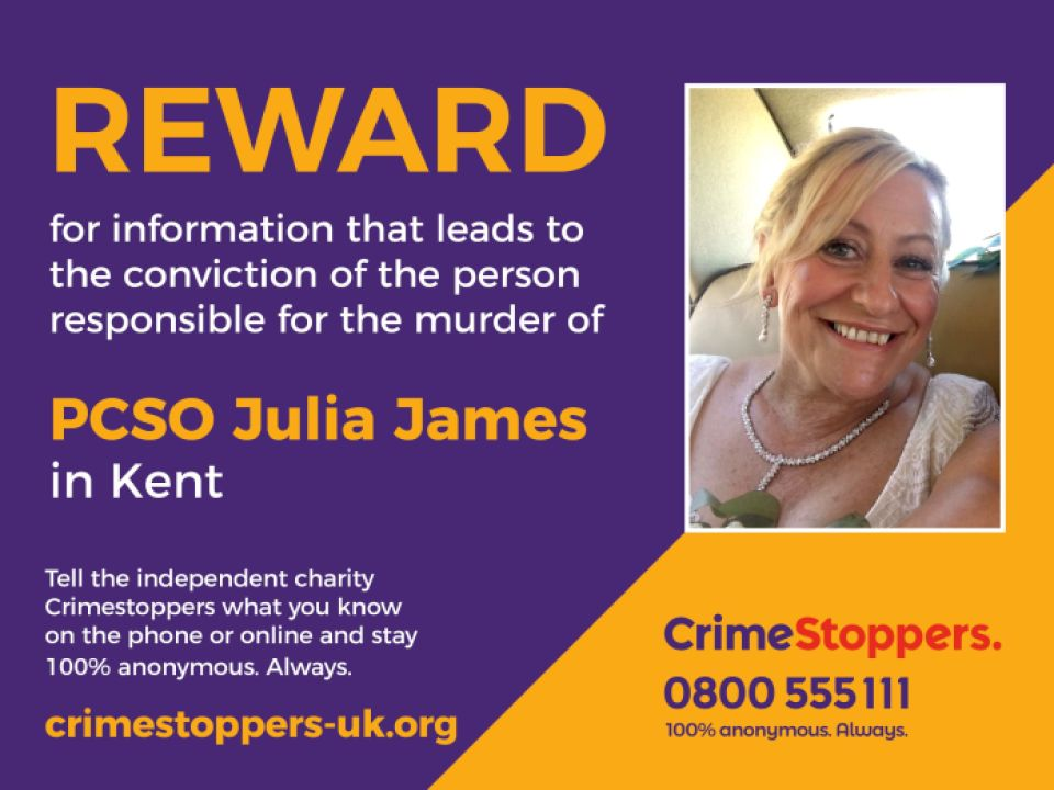 A reward of £ 10,000 has been offered for information