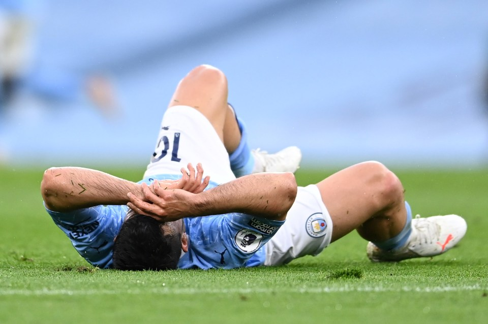 Sergio Aguero faces heartbreak of Champions League final after suffering another injury