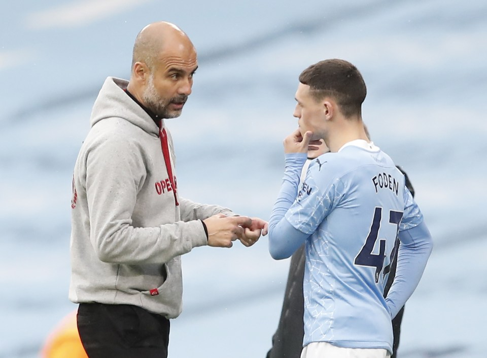 Pep Guardiola has the provisional title of manager of the season while Phil Foden wrapped up young player