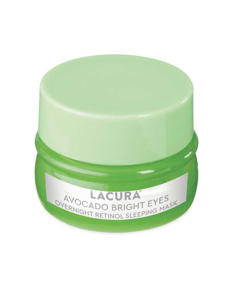 ...when Aldi's Lacura Avocado Bright Eyes Overnight Retinol Sleeping Mask is just £4.49