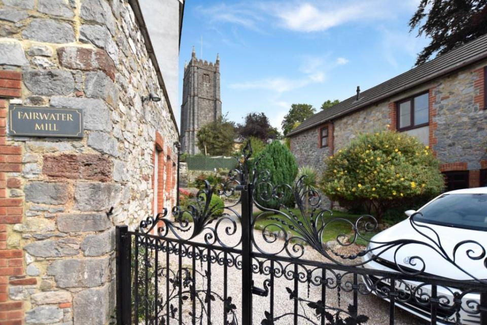 The property offers a gravelled driveway, providing off road parking for several cars
