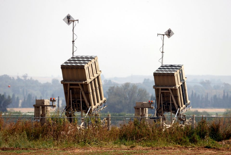 The Iron Dome, which the United States helped finance, is designed to shoot down Hamas rockets