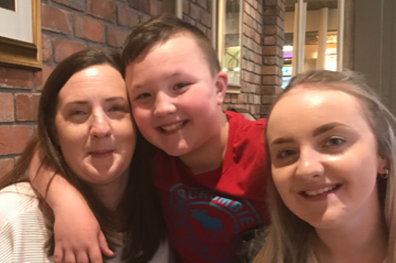 Pauline Worthington, 42, was diagnosed with bowel cancer in December 2019