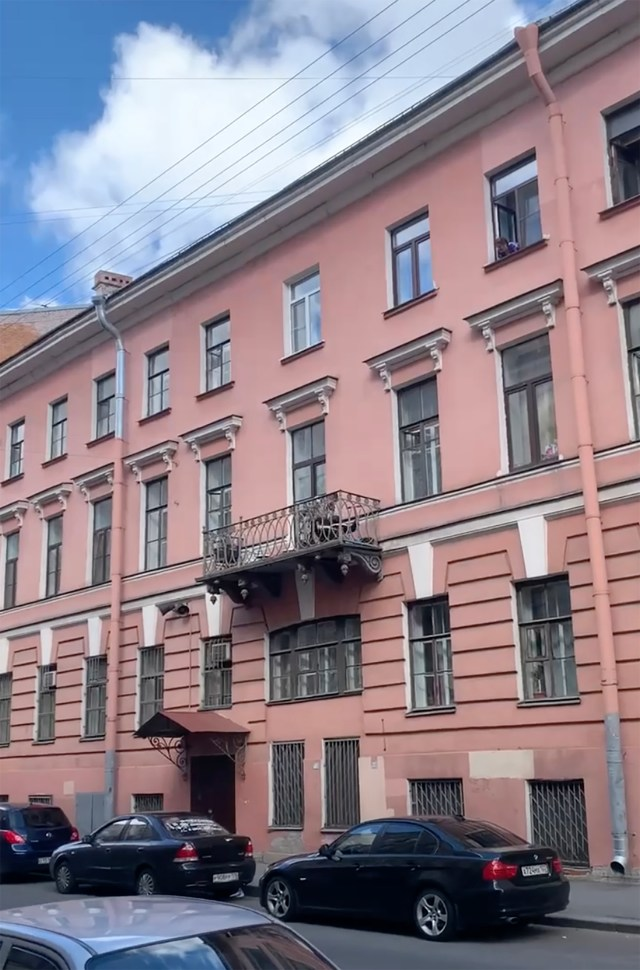 Authorities in St Petersburg are investigating the incident