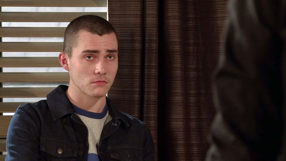 Maximus Evans plays killer Corey - but it's not the first role he auditioned for