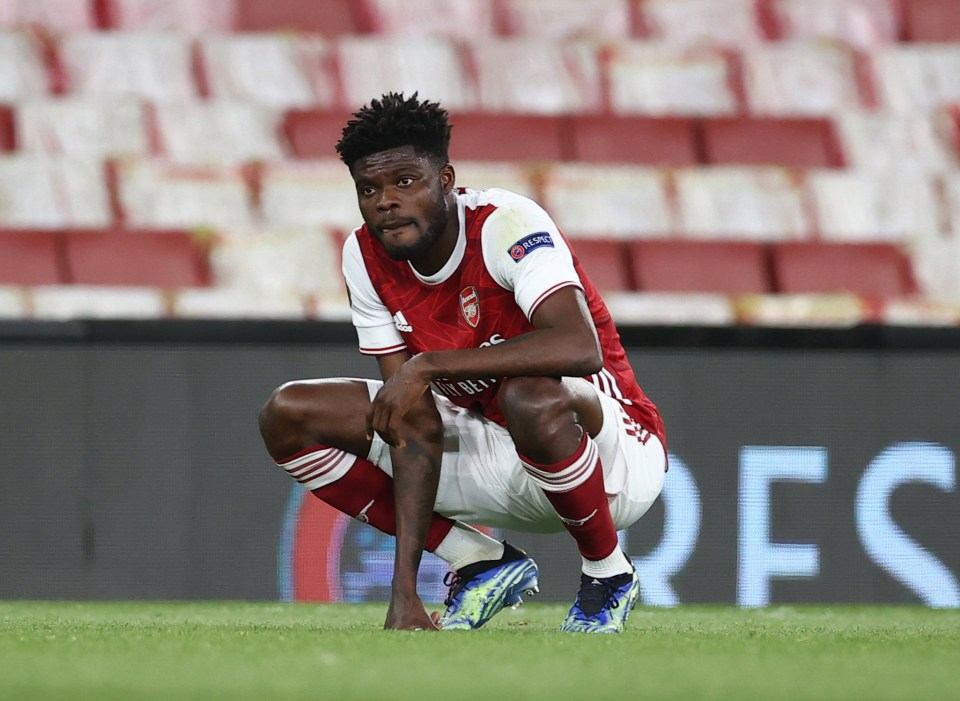 Partey has failed to hit the ground running in North London