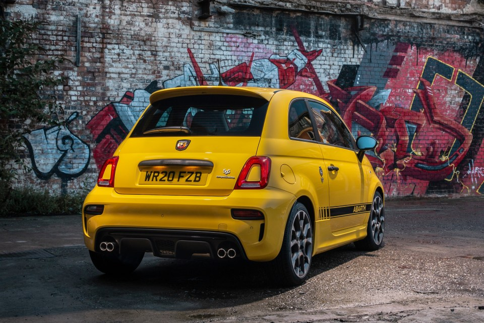 While it's not the Abarth's actual fault given it's a Fiat 500, it has a teeny fuel tank and the smallest boot space of any new car in the UK today