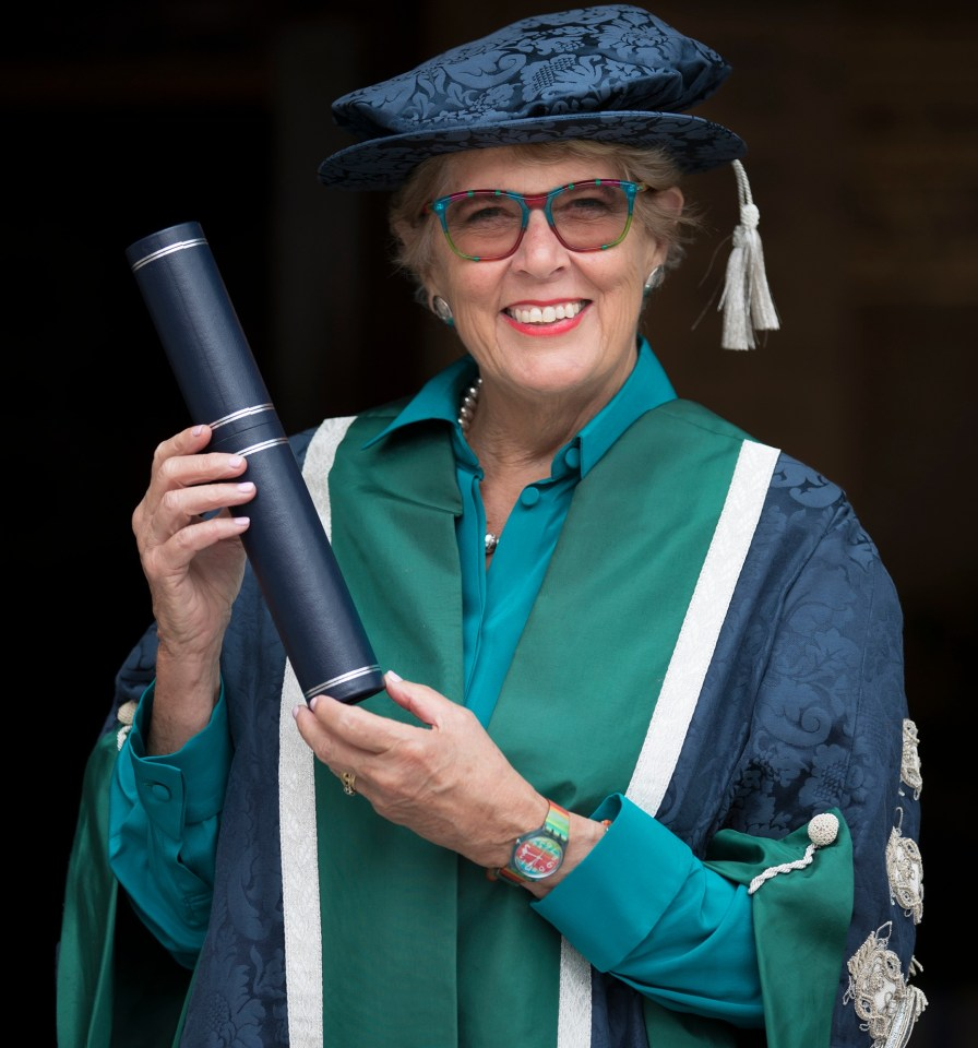 She became Chancellor of Queen Margaret University, in Edinburgh, in 2017