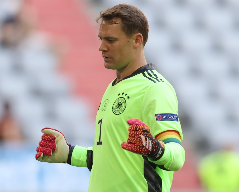 Uefa recently revealed Germany and Manuel Neuer will face no punishment after the captain wore a rainbow armband in support of Pride Month in games against France and Portugal