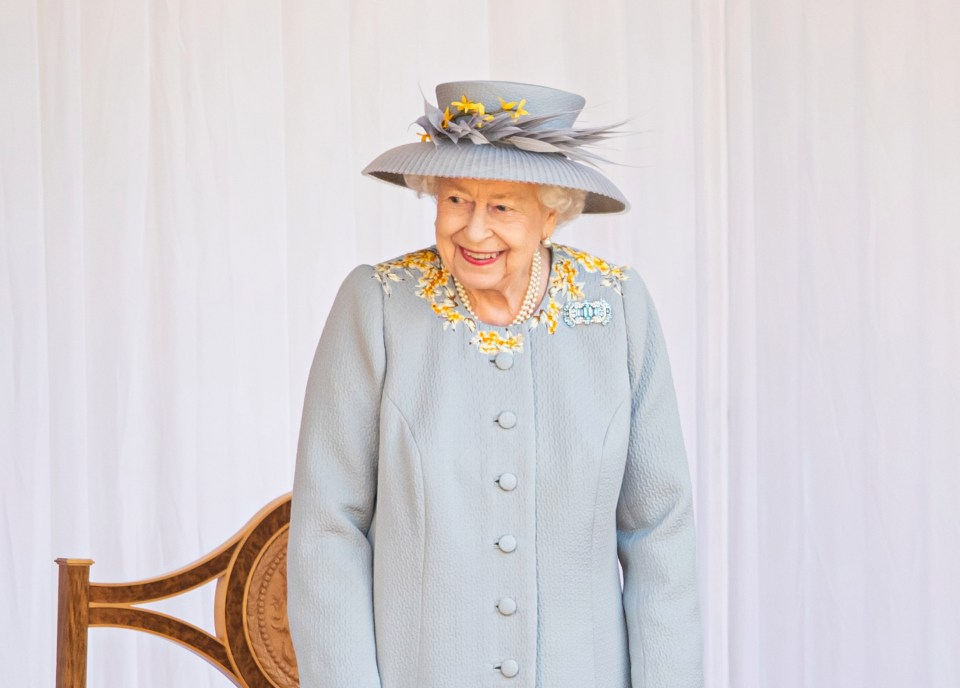 The Queen, pictured at the Trooping the Colour this month, is said to have a new spring in her step since coming out of lockdown