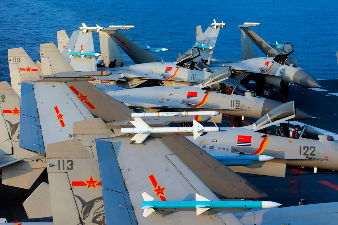 It is the latest move in China's bid to create the world's greatest modern flying force