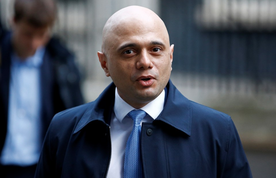 Former Chancellor of the Exchequer Sajid Javid is the running