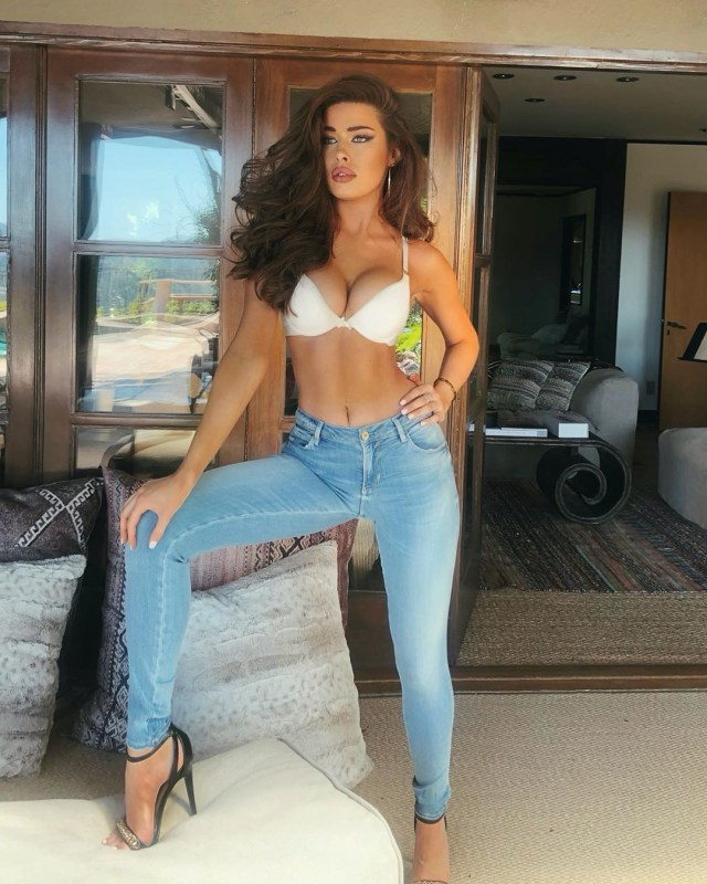 Tamara shows off her incredible figure in a shoot