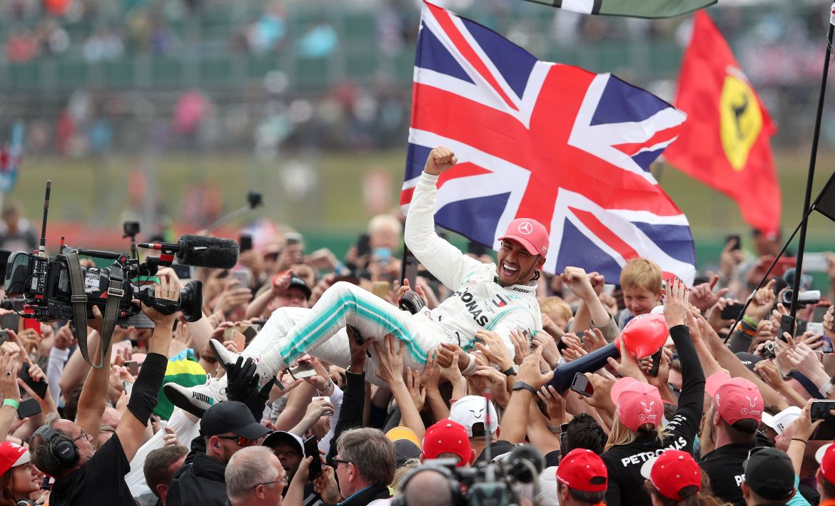 British Grand Prix bosses confident Silverstone can host 400,000 fans for  this year's race despite lockdown lift delay