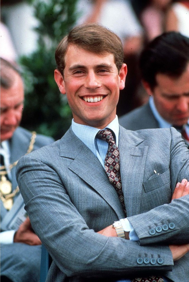 After a decade as director of the company, Edward stepped down to become a full-time working Royal. Pictured: Edward at Ascot in 1984