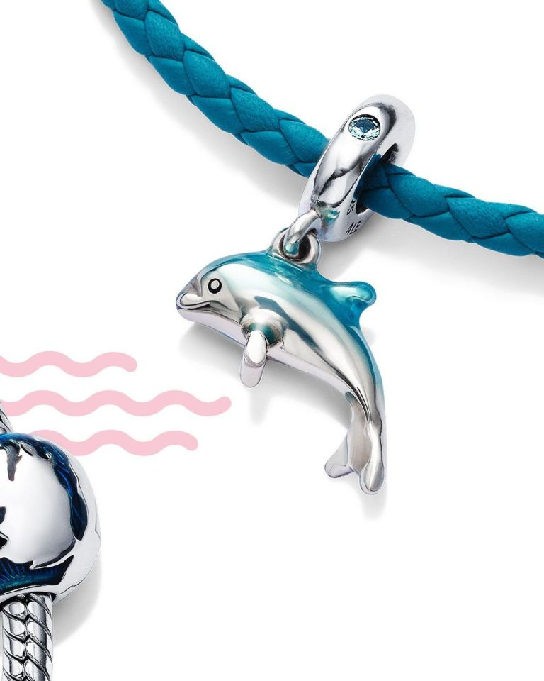 """You can get your hands on a mini dolphin, among the numerous """"cute"""" charms"""