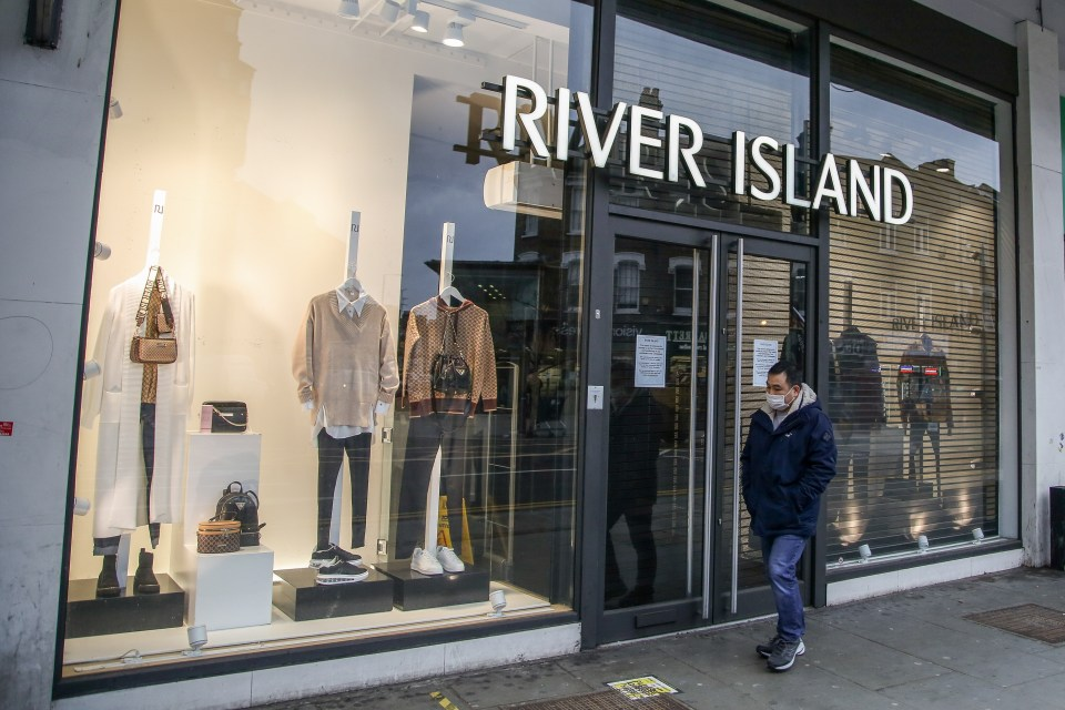 River Island is home to menswear, womenswear and more