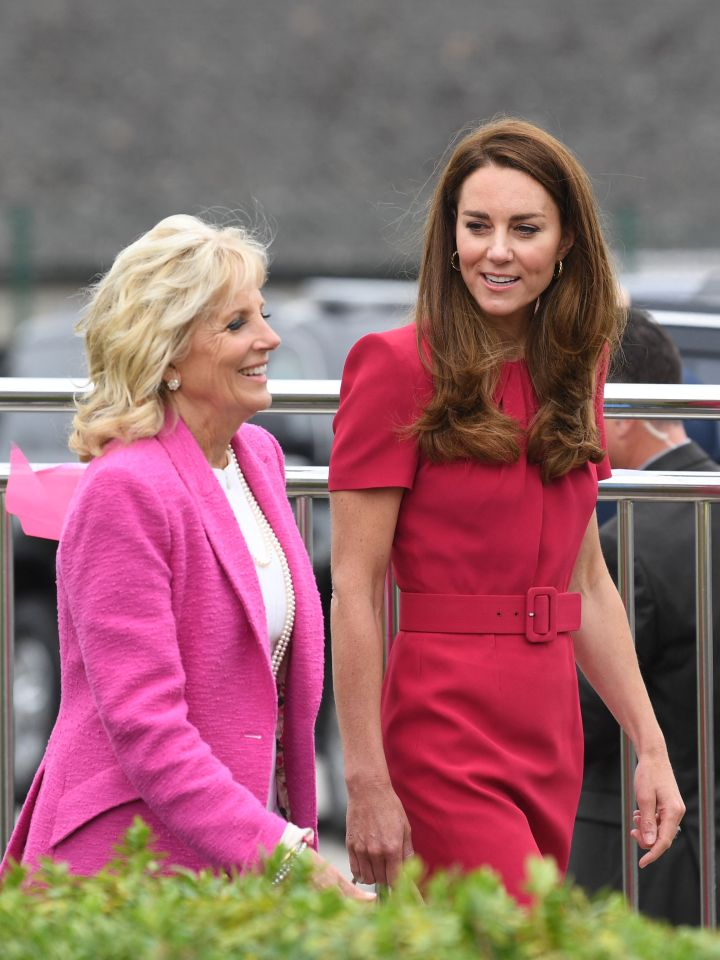 Today was the first time that Kate and Dr Jill had met, and it seemed they had both got the pink memo