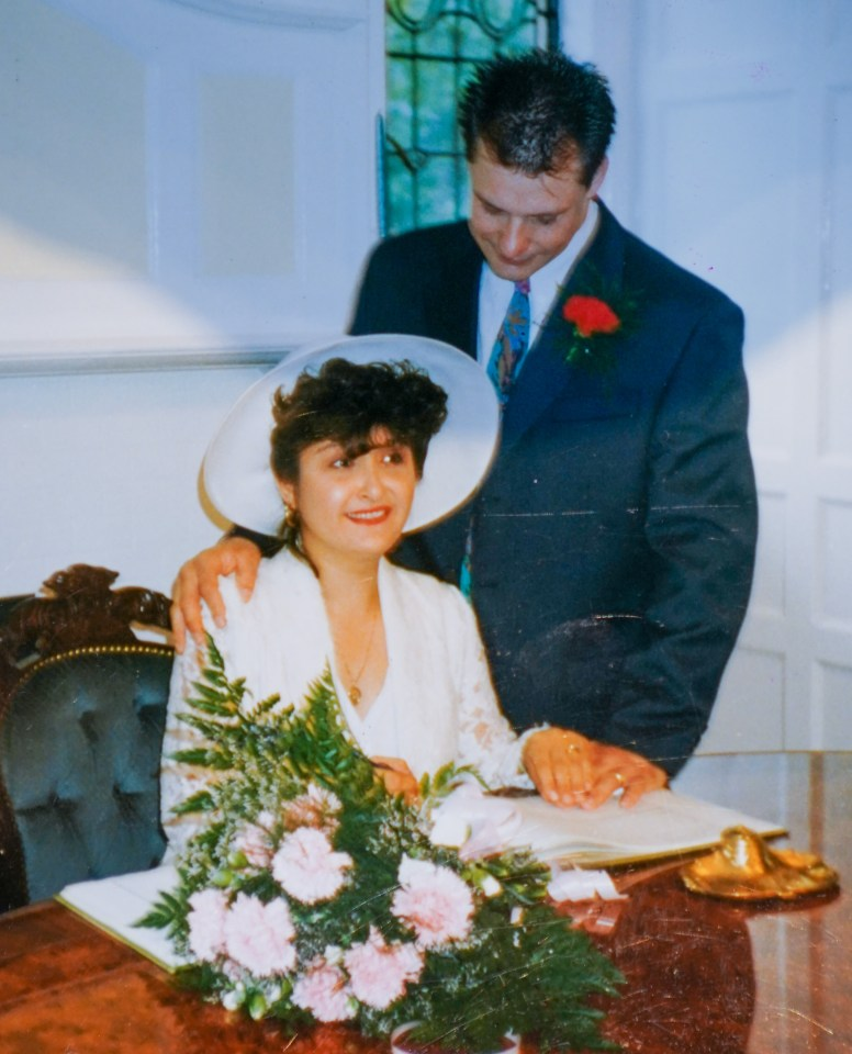 It was only after Cecilia tied the knot with Tony that she learned of his criminal history