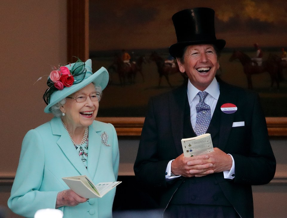 She was delighted to be back at the Royal Ascot