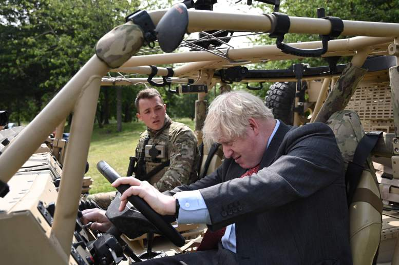 The PM made the remarks during a visit to Aldershot Garrison