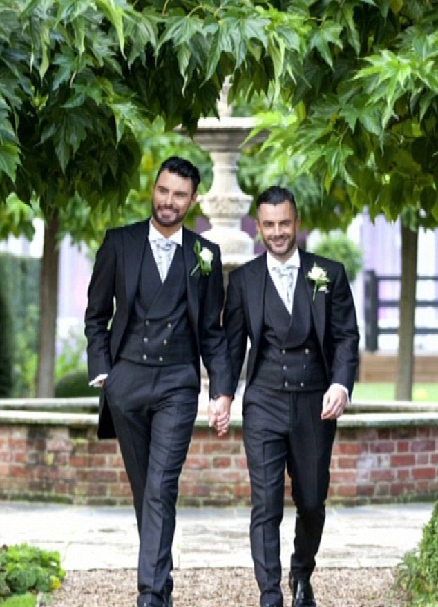 Rylan and former Big Brother contestant Dan met in 2013 and married two years later